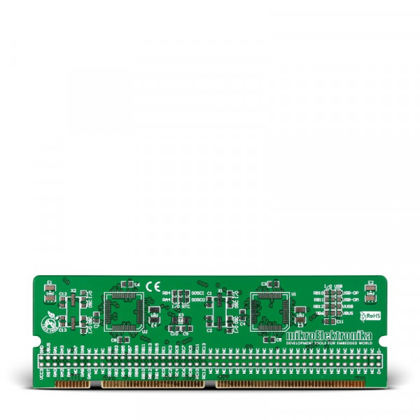 LV-24-33 v6 44-pin TQFP MCU Card Empty PCB