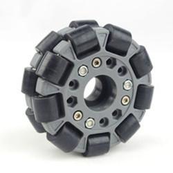 Mecanum Omni Directional Wheel -100mm,Double Nylon-Rubber