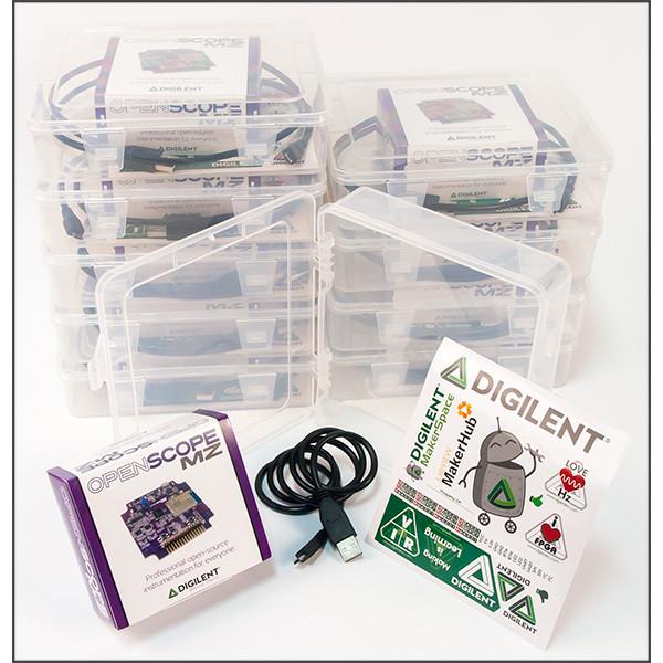 OpenScope MZ Makerspace Bundle (Add Two Analog Parts Kits)