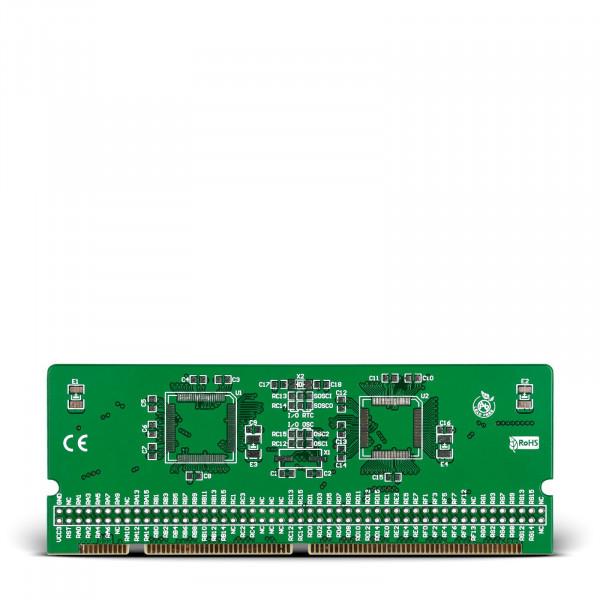 LV-24-33 v6 100-pin TQFP 2 MCU Card Empty PCB