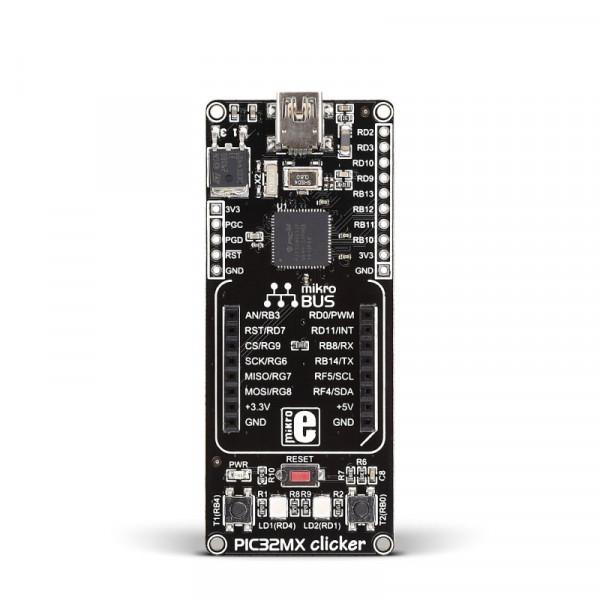 PIC32MX clicker