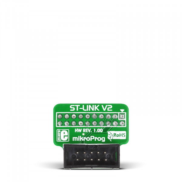 mikroProg to ST-Link v2 adapter