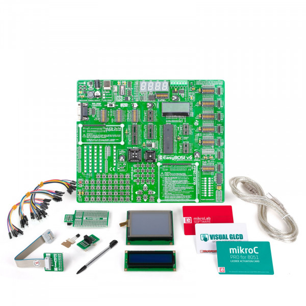 mikroLAB for 8051