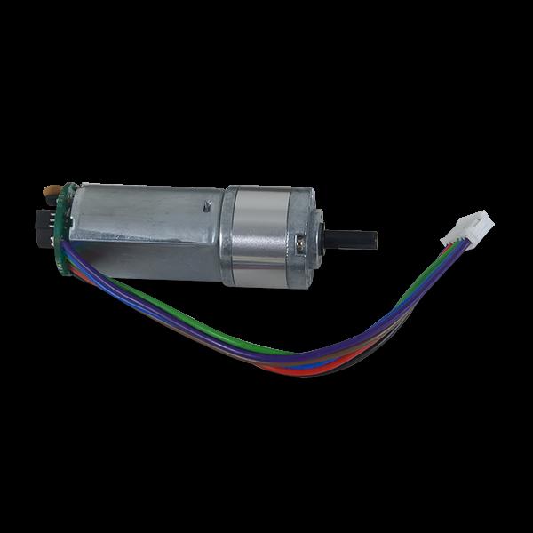 DC Motor/Gearbox (1:53 Gear Ratio): Custom 6V Motor Designed for Digilent Robot Kits