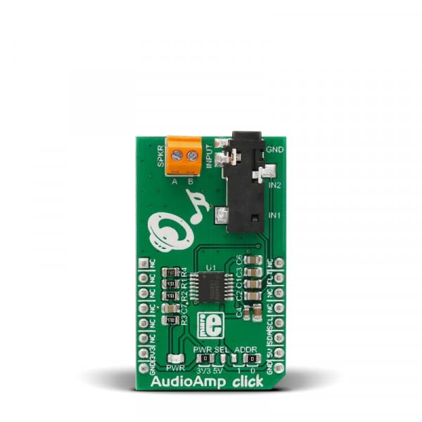 AudioAmp click