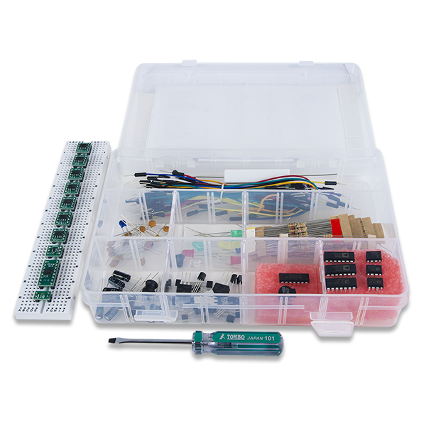 Analog Parts Kit by Analog Devices: Companion Parts Kit for the Analog Discovery