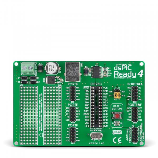 dsPIC-Ready4 Board