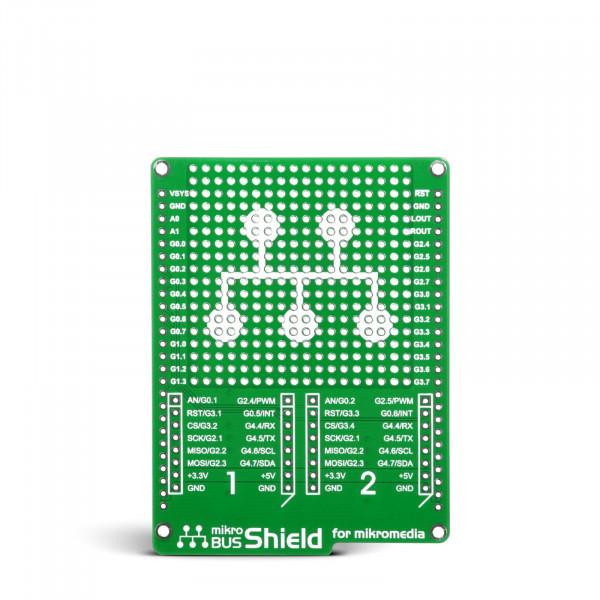 mikroBUS Shield for mikromedia
