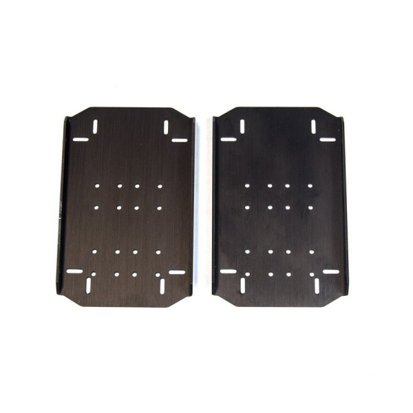 BIOLOID Compatible Metal F12 AX Foot (Pair)