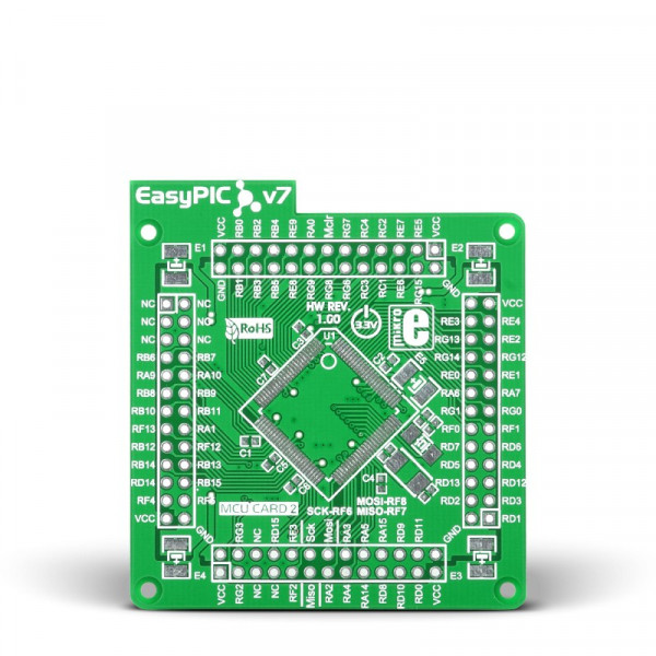 EasyPIC Fusion v7 Empty MCUcard1 100pin TQFP PF