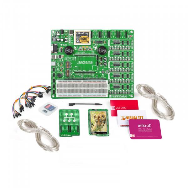 mikroLAB for mikromedia - PIC32 mikroC
