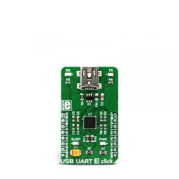 USB UART 3 click