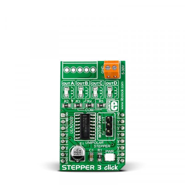 Stepper 3 click