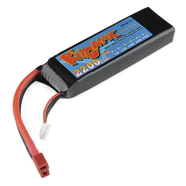 Polymer Lithium Ion Battery - 2200mAh 7.4v