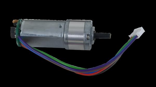 DC Motor/Gearbox (1:19 Gear Ratio): Custom 12V Motor Designed for Digilent Robot Kits