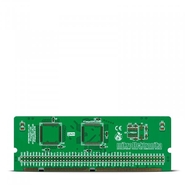 BIGAVR6 64-100-pin TQFP 1 MCU Card Empty PCB