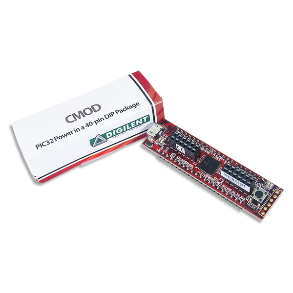 Cmod MX1: Breadboardable PIC32MX Microcontroller Module