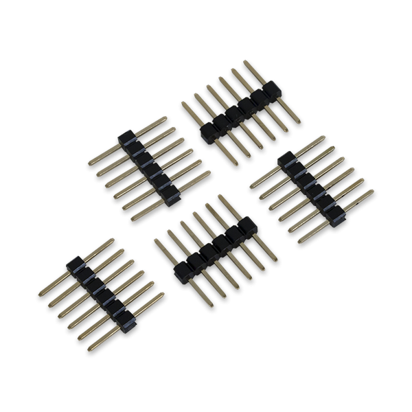 6-pin Header & Gender Changer (5-pack)