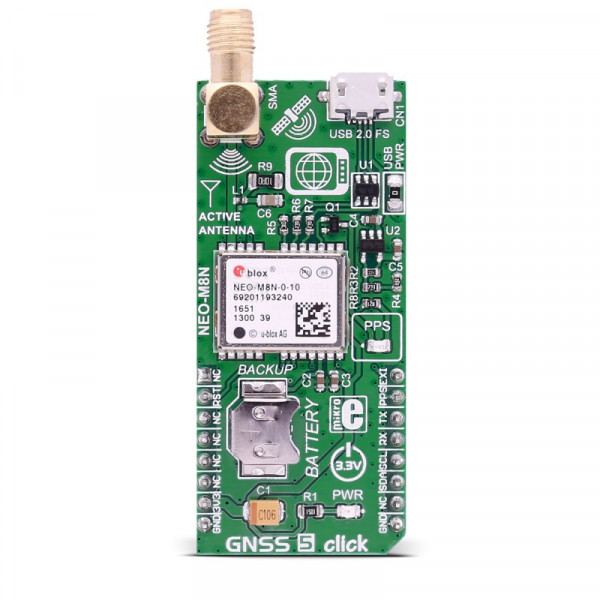 GNSS 5 click