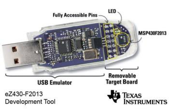 MSP430 USB Stick Development Tool
