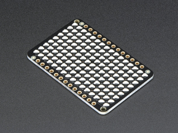 Adafruit LED Charlieplexed Matrix - 9x16 LEDs - Yellow
