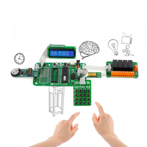 Let's make - Programmable Timer Relays (AVR)