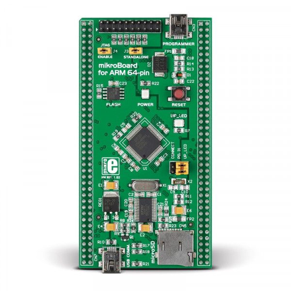 mikroBoard for ARM 64-pin