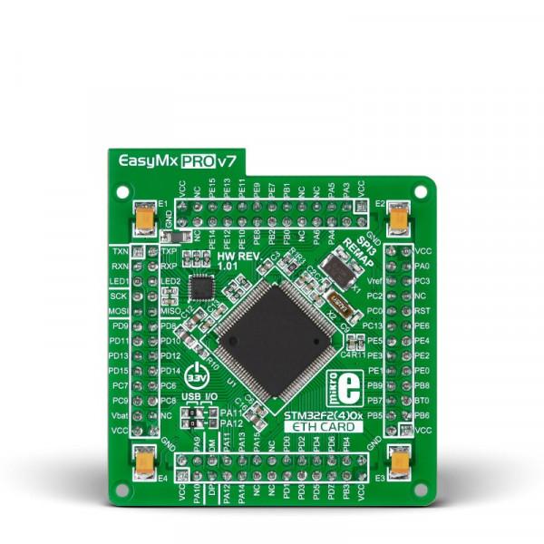 EasyMx PRO v7 for STM32 MCUcard with STM32F207VGT6