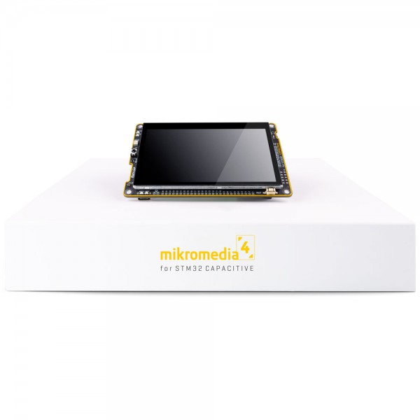 Mikromedia 4 for STM32F4 CAPACITIVE