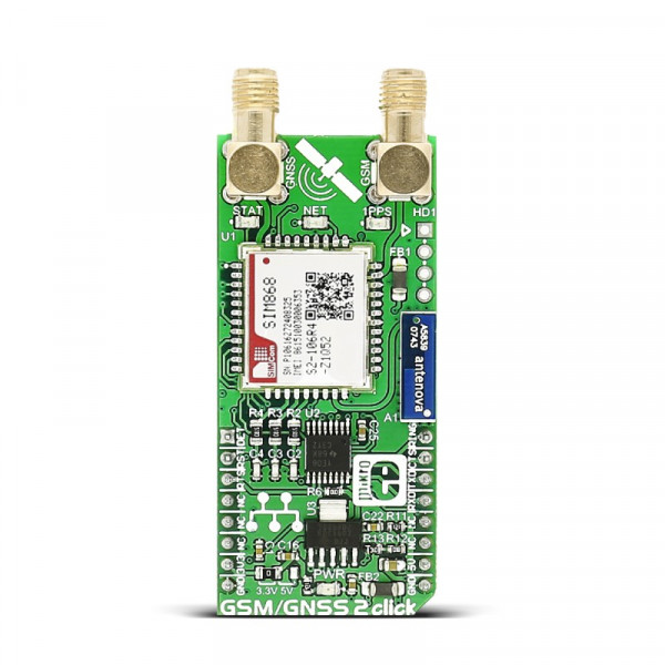 GSM/GNSS 2 click