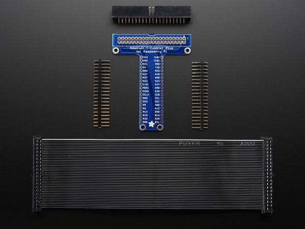 Adafruit Pi T-Cobbler Plus Kit - Breakout for Pi A+/B+/Pi 2