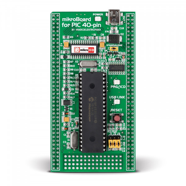 mikroBoard for PIC 40-pin with PIC18F4520
